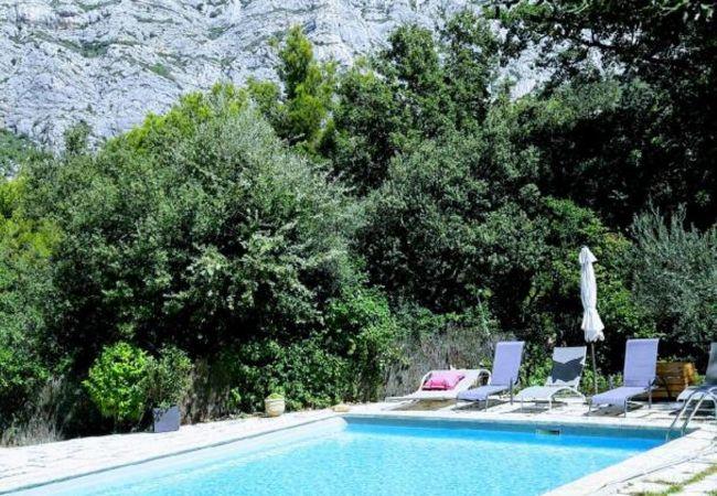 Apartamento en Saint-Antonin-sur-Bayon - APPARTEMENT AVEC PISCINE SAINTE VICTOIRE